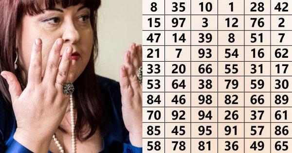 ¡Las precisas predicciones de Alena Kurilova! Simplemente, elije un número al azar y mira lo que sucede…