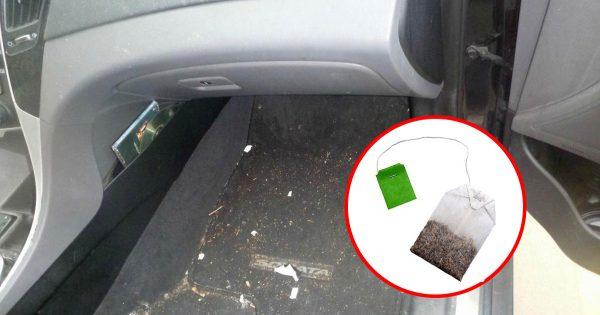 ¡Siempre cuelgo una bolsa de té en el espejo retrovisor de mi coche! He aquí el por qué.