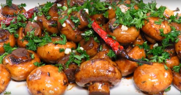 Hongos cocidos rápidamente en una sartén, una opción para aquellos que disponen de poco tiempo…