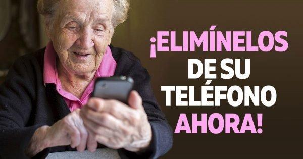 Aplicaciones que deben eliminarse urgentemente de tu teléfono