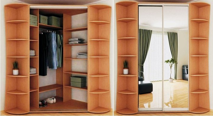 Armario de esquina para el dormitorio - Armario de esquina ...