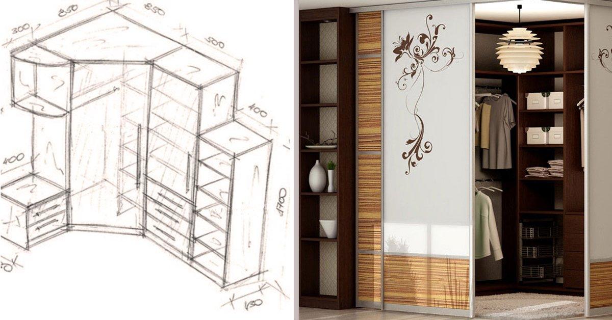 Armario de esquina para el dormitorio - Armarios de esquina ...