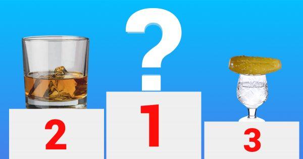 Bebidas alcohólicas según el grado de peligro. ¡El #1 ha sido toda una sorpresa!