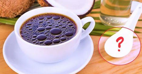¡Añade ESTO a tu café cada mañana, y te olvidarás del problema de sobrepeso!