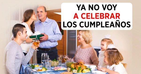 ¿Vale la pena celebrar un cumpleaños?