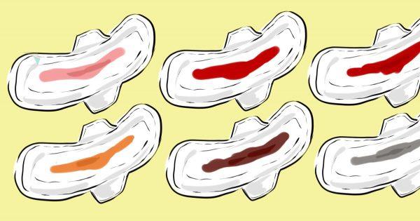 El color de la sangre durante la menstruación, dice mucho sobre tu cuerpo… ¡Ten lo en cuenta!