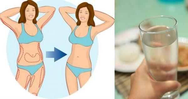 6 kg tan solo en 8 días con la dieta a base de agua. ¡Comía todo, incluso pasta por la noche!