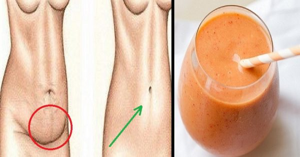¡Consume este elixir de 3 ingredientes, y tu abdomen volverá a ser plano! Un método rápido.