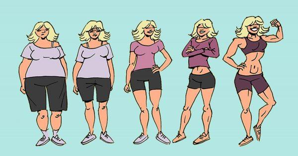 Si no consigues adelgazar de ningún modo, prueba este método… ¡Perderás 5 kg en una semana!