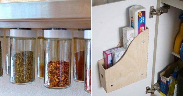Mi amigo compartió un par de trucos para crear el ordenado perfecto en la cocina. ¡Todo al alcance de la mano!