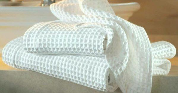 Cómo blanquear las toallas de cocina: una receta de solución universal