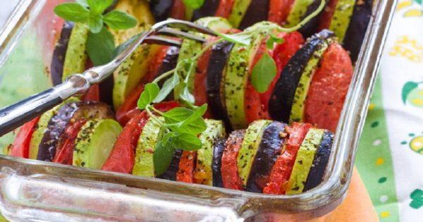 ¿Verduras al horno? Pues sí… ¡Una delicia digna de un rey!