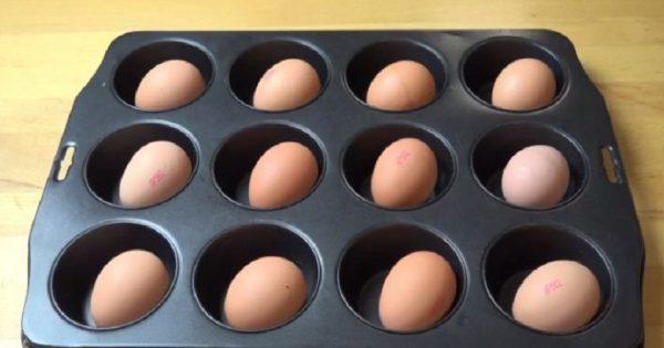 ¿Huevos duros al horno? Pues sí, pura delicia para tu paladar…