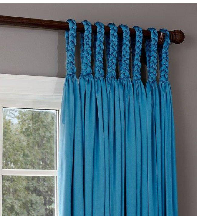 C mo colgar cortinas en la cornisa - Como colgar unas cortinas ...