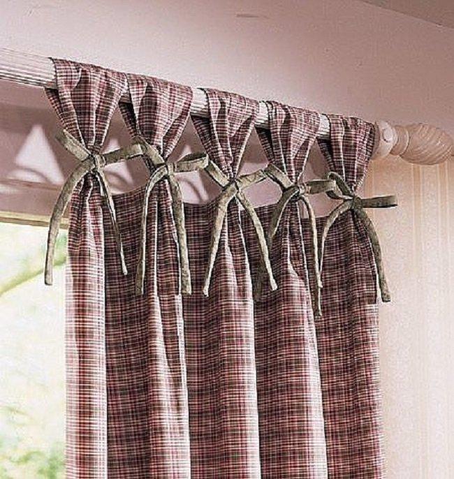 C mo colgar cortinas en la cornisa - Como hacer cortinas para puertas ...