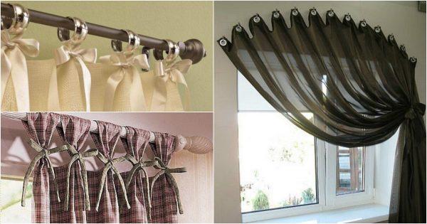 ¡Conoce 20 hermosas maneras de colgar cortinas en la cornisa!