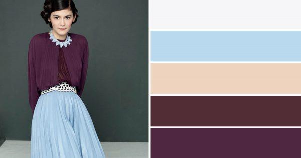 Locamente maravillosas combinaciones de colores para la ropa… ¡La № 13 es mi favorita!