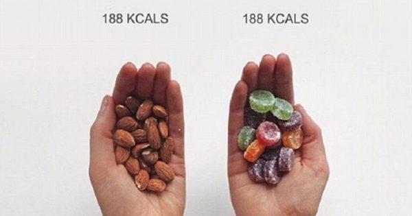 Una conocida fitness blogger revela la verdad sobre las calorías de los alimentos. ¡El chocolate no es lo más oscuro!