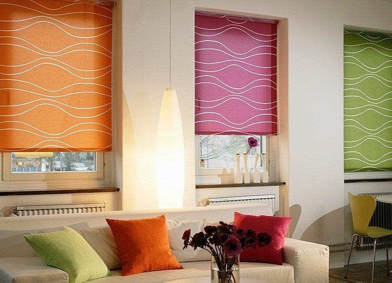 C mo coser cortinas romanas - Pegatinas para cortinas ...