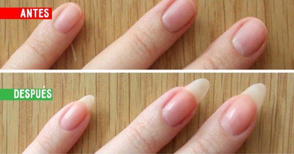 La magia de 3 ingredientes para devolver la belleza a tus uñas: ¡El resultado es a velocidad de un rayo!