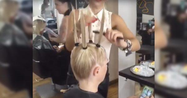 ¡Solo mira este magnífico corte! Un peinado elegante que le dará volumen al cabello más fino…