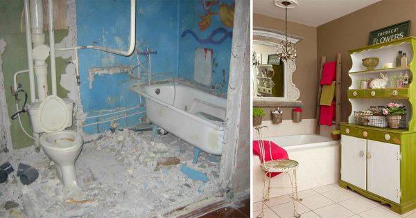 6 trucos geniales para renovar tu cuarto de baño. ¡Jamás habrás utilizado los platos de esta manera!