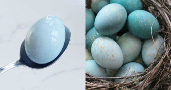 ¡Te sorprenderás cuan hermosos quedan los huevos, si los pintas con ESTO!