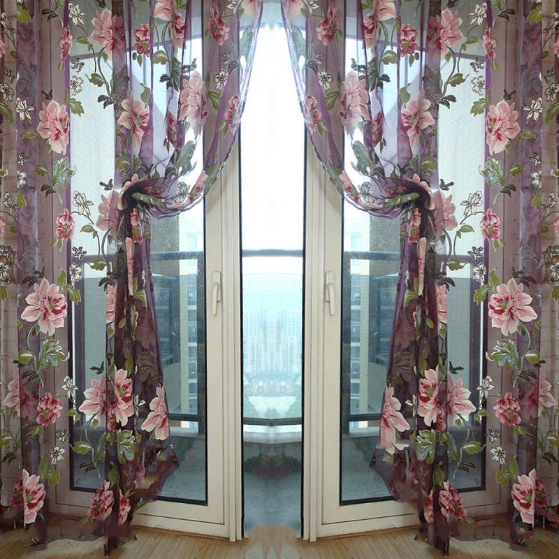C mo decorar los interiores con tul - Tela termica para cortinas ...