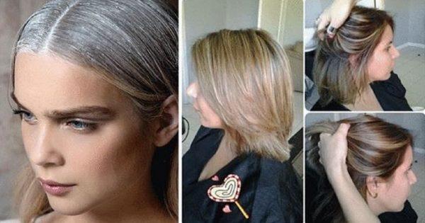 ¿Te gustaría deshacerte de las hebras plateadas y devolverle el tono a tu pelo? He aquí la solución…