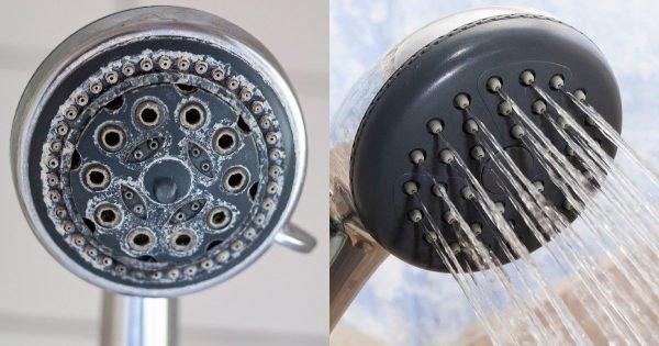 Qué hacer si el cabezal de la ducha está obstruido