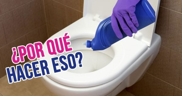 ¿Por qué deberías verter líquido para lavar platos en el inodoro?