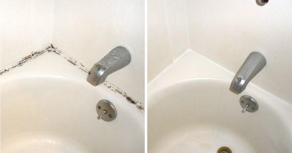 ¿El moho en tu baño continúa atormentándote? Este sencillo y barato truco solucionará el problema…