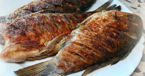 ¡Es así cómo se debe freír pescado! Con un poco de sal, tierno y con una cascarita crujiente…