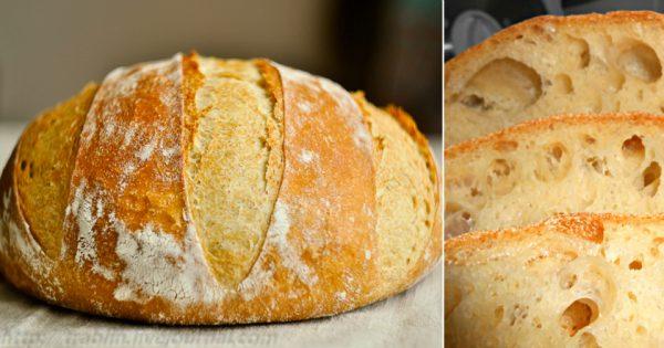 ¿Te gustaría hacer pan casero, sin embarrarte las manos? Pues... ¡Prueba esta delicia, te va a encantar!