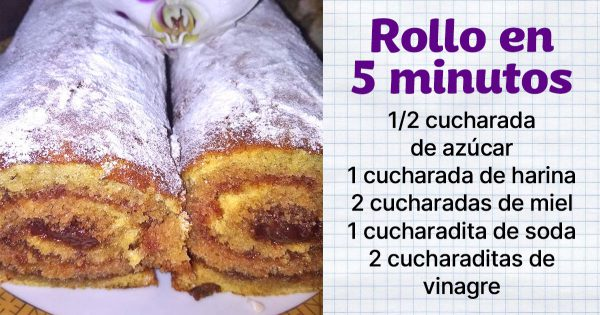 La receta del día: Rollitos dulces con relleno