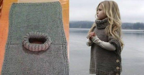 Chaleco de punto con botones: ¡Una buena idea para las costureras principiantes!