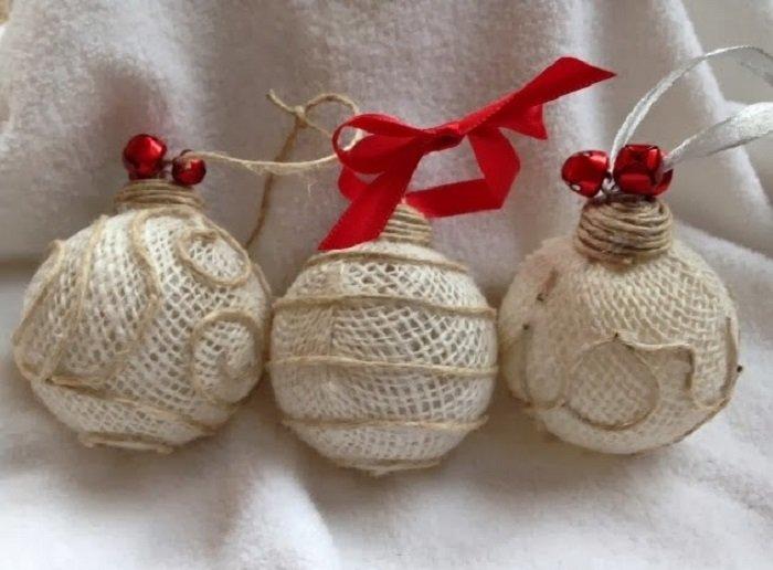 C mo hacer un juguete para el rbol de navidad - Como hacer bolas para el arbol de navidad ...