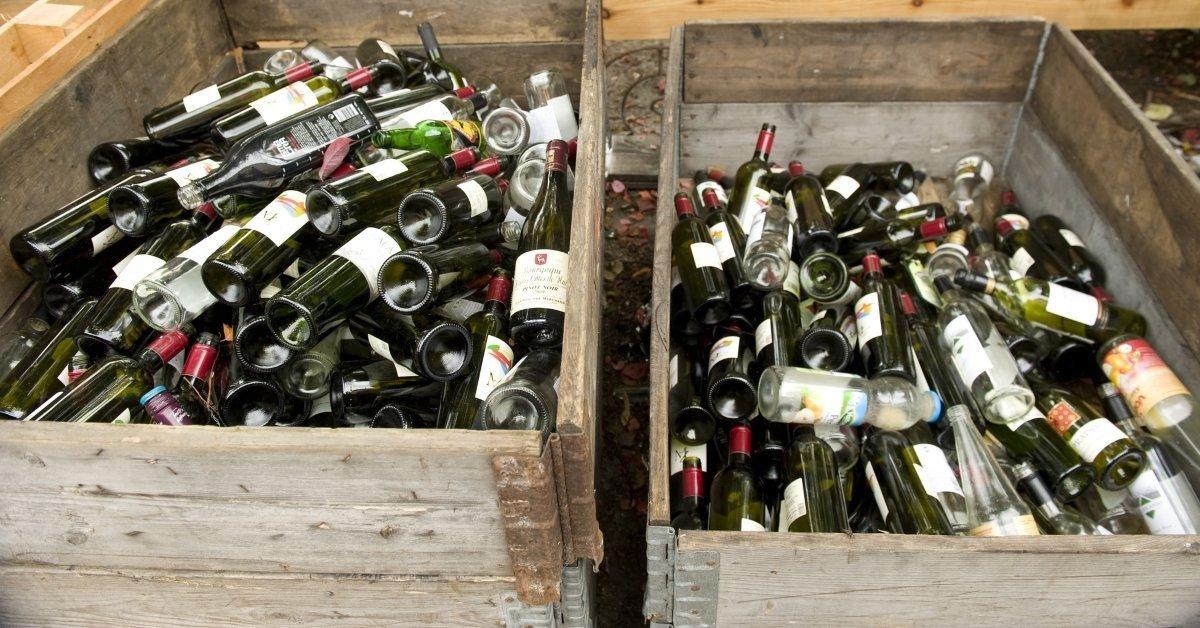 ¿Para qué recolectar botellas de vidrio?