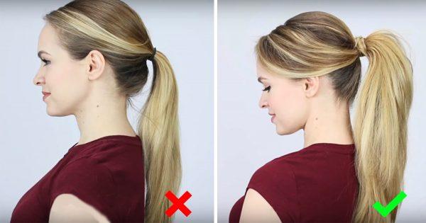 ¡Imperdonable! ¡La mayoría de las chicas se hacen este peinado incorrectamente!
