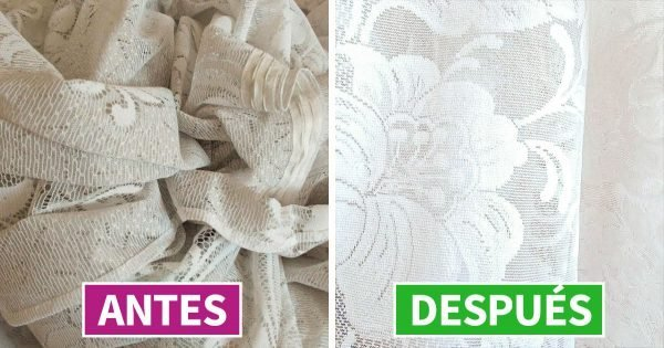 Cómo lavar el tul de las cortinas