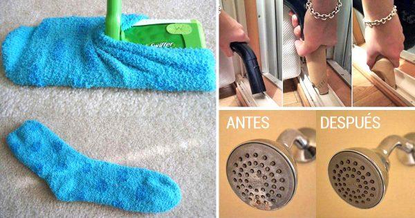 ¡9 trucos para limpiar la casa a la velocidad de un rayo! Son indispensables…
