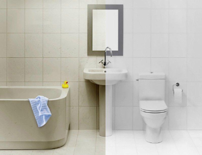C mo limpiar el ba o con m todos caseros - Como limpiar azulejos bano ...
