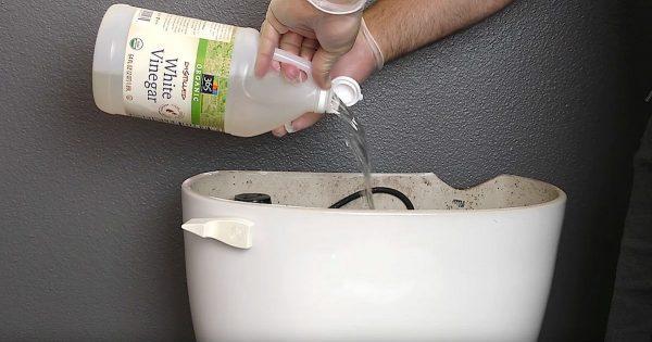 Para él, limpiar el inodoro era una verdadera tortura. ¡Hasta que conoció estos trucos!