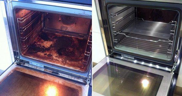 La limpieza del horno sin estrés.