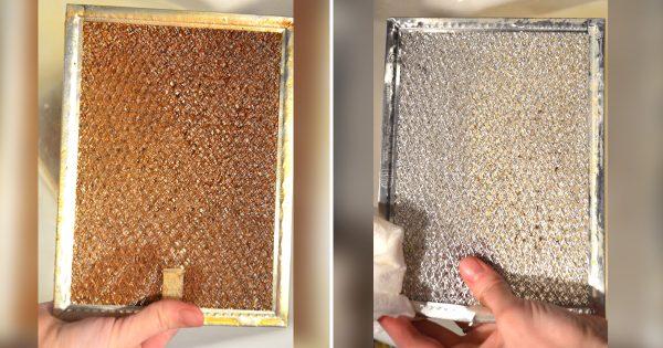 El modo más sencillo de limpiar el filtro de la rejilla extractora. ¡Vuelve a ser tan brillante como antes!
