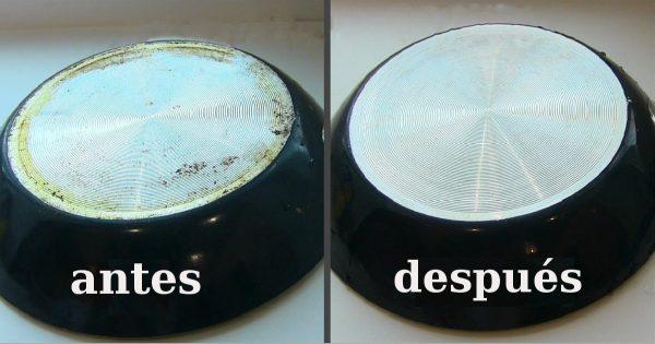 ¡Este antiguo truco para limpiar ollas de tizne y grasas incrustadas te va a encantar!
