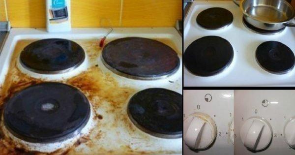 Cómo hacer de tu estufa el lugar más limpio de tu cocina