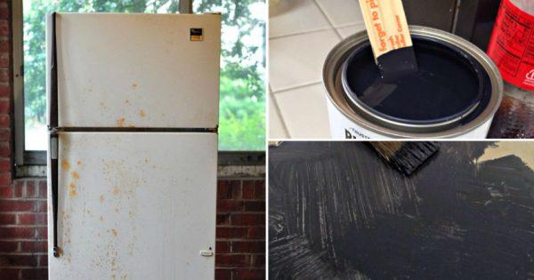 Cómo renovar un refrigerador.