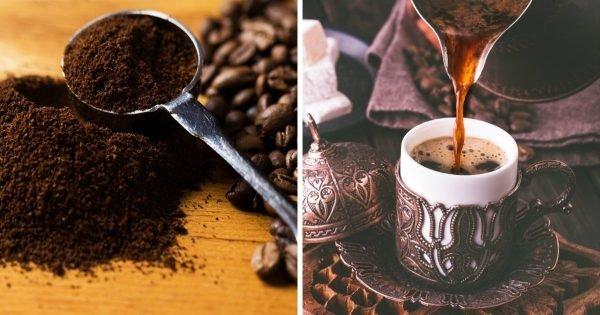 Cómo hacer café en un turco