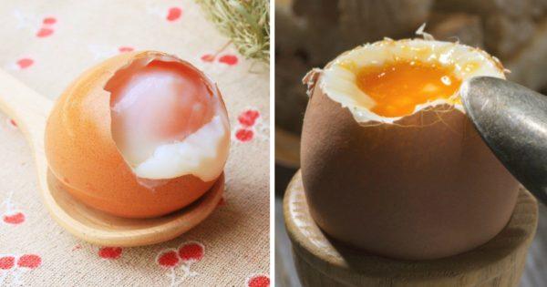 Cómo cocinar huevos pasados por agua